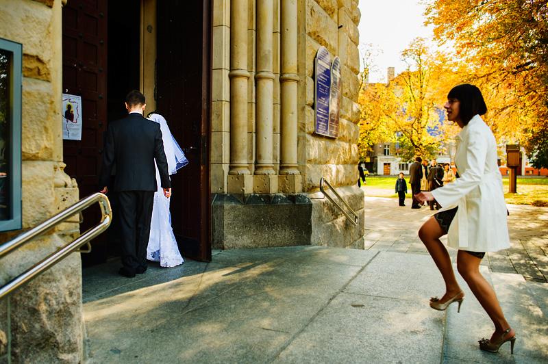 wejście na ślub