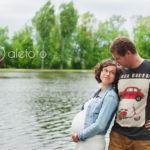 sesja ciążowa w plenerze – Wrocław