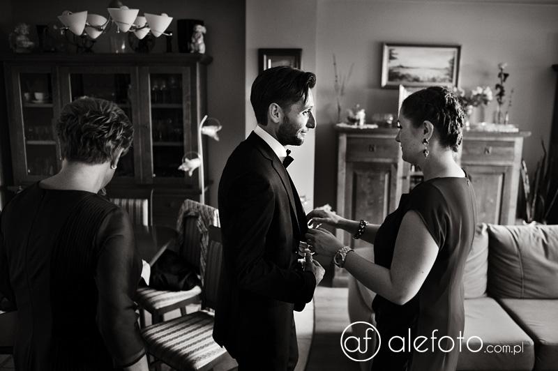 monika i krzysiek - fotoreportaż ślubny