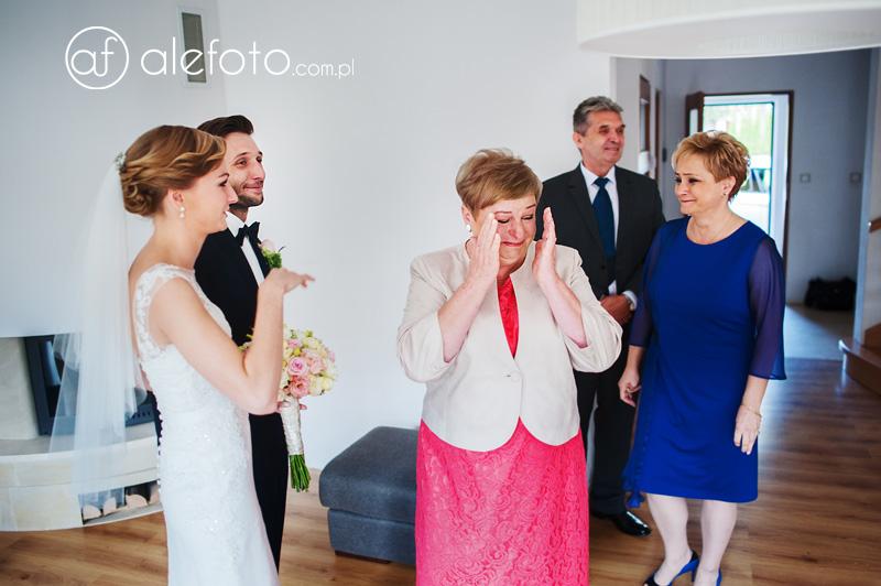 emocjonujący ślub