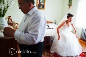 Ślub Uli i Michała w Legnicy, wesele w Pałacu Krotoszyce | Fotograf ślubny Krotoszyce