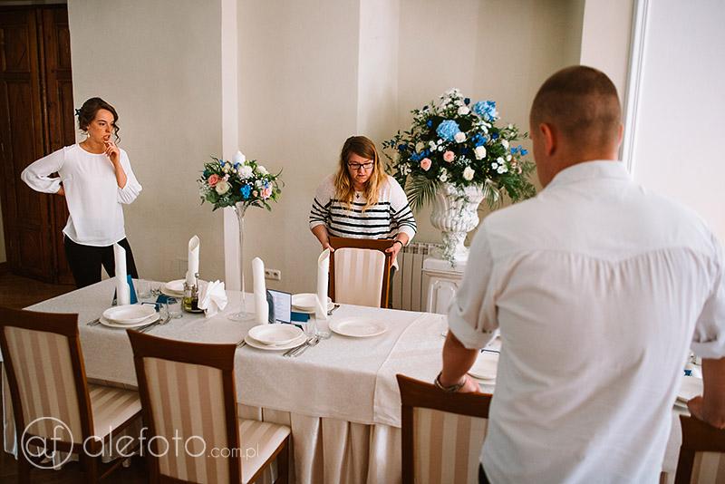 przygotowania weselne