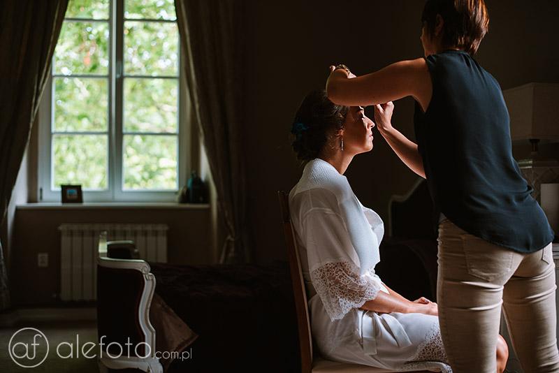fotograf ślubny pałąc konary