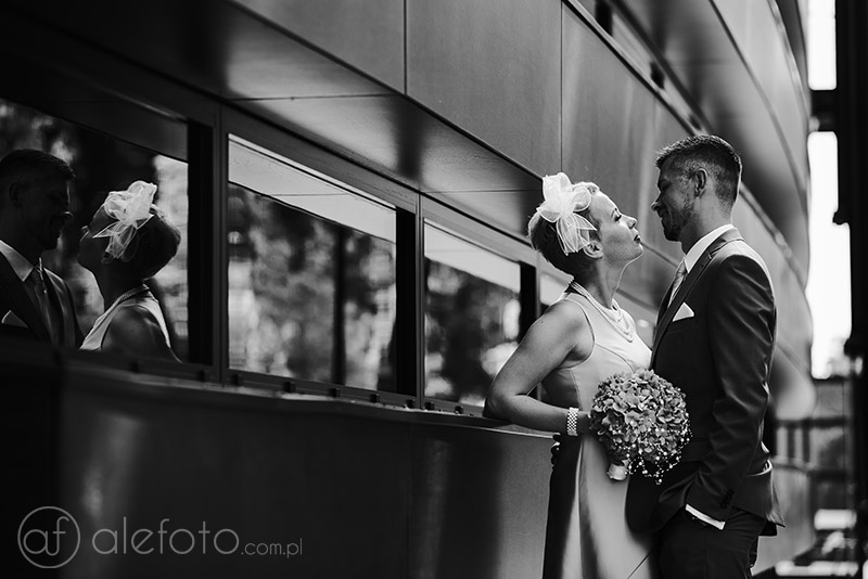 Sesja ślubna w dniu ślubu cywilnego